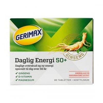 Orkla Gerimax Dalig Energi 50+ • 80 tab.
