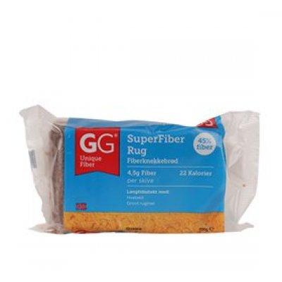 GG SuperFiber Rug knækbrød • 100g.