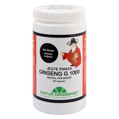 ND Ginseng G1000 Panax 90 kapsler
