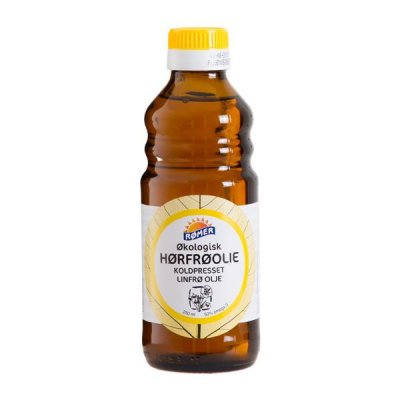 Rømer Hørfrøolie Koldpresset Ø - 250 ml.