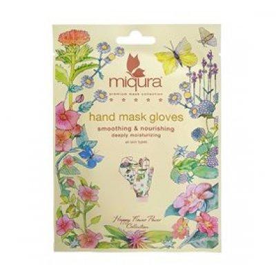 Miqura Hand Mask Gloves Flower