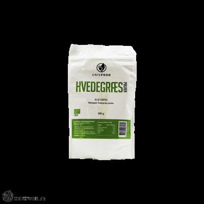 Unik Food Hvedegræs pulver Ø • 200g
