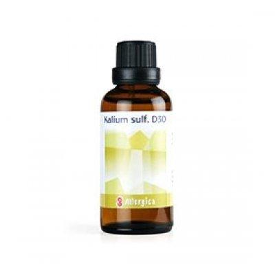 Allergica Kalium sulf. D30 Cellesalt 6 • 50ml.