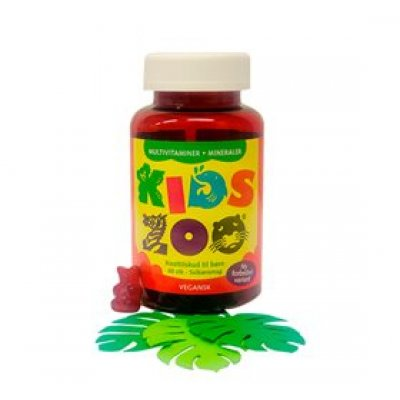 Kids Zoo Multivitamin + Mineraler • 60 stk.