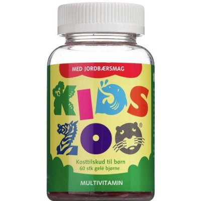 Kids Zoo Multivitamin Jordbærsmag • 60 stk.