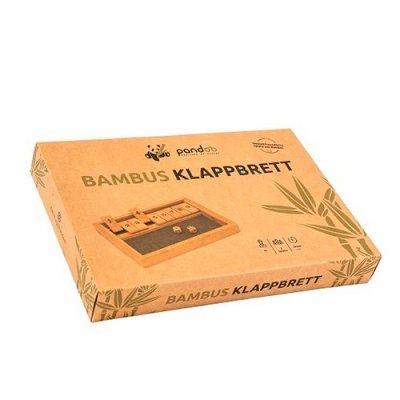 OBS Klapbræt spil i bambus • 1 stk.
