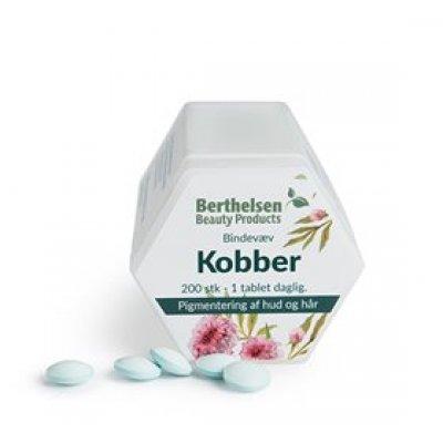 Berthelsen Kobber 2 mg • 200 tab.