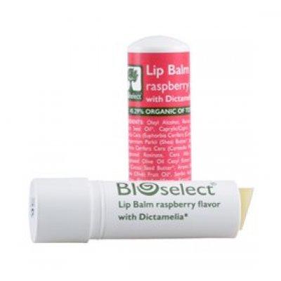 Bioselect Læbepomade hindbær • 4g