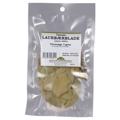 ND Laurbærblade Hele • 5 g.