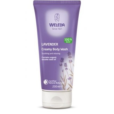 Weleda Lavender Creamy Body Wash • 200 ml.