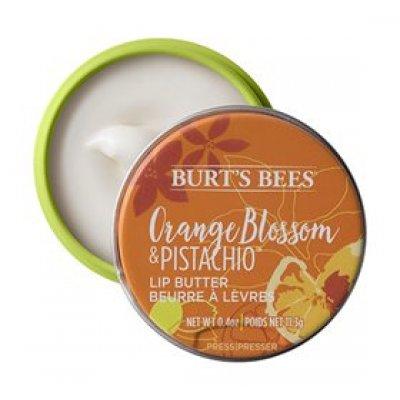 Burts Bees Lip Butter orange blossom & pistachio • 11g.