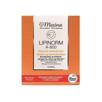 Mezina Lipinorm A-800 180 tabletter