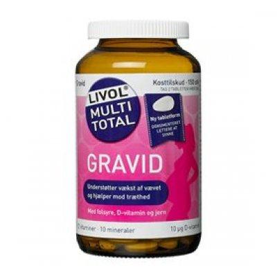 Livol multi total gravid • 150 tab.