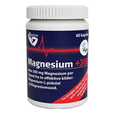 BioSym Magnesium +300 • 60 kapsler