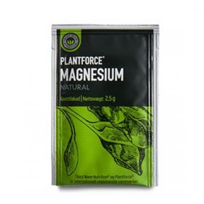 Plantforce Magnesium Natural • 2g.