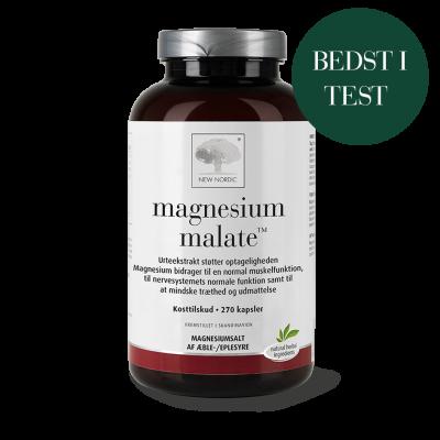 New Nordic Magnesium malate™ • 270 kapsler