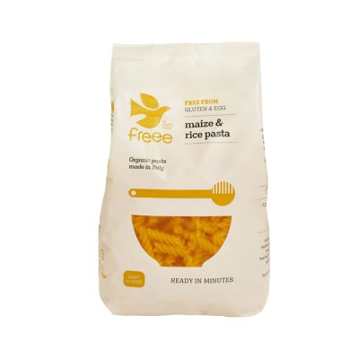 NatureSource Majs & Ris Fusilli Pasta glutenfri Ø • 500 g.
