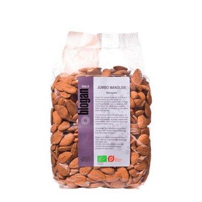 Biogan Jumbo mandler Ø • 1 kg