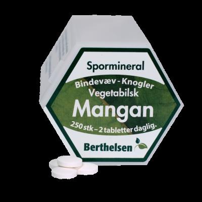 Berthelsen Mangan 3,75 mg • 250 tab.