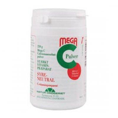 ND Mega C calciumascorbat C-vit • 250g.