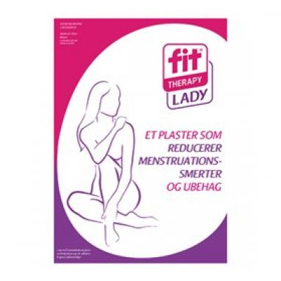 FIT Menstruationskit ladyfit 2 sæt smertelindrende