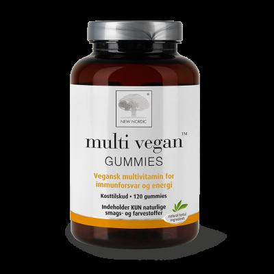 New Nordic Multi Vegan Gummies 120 stk - Datovare