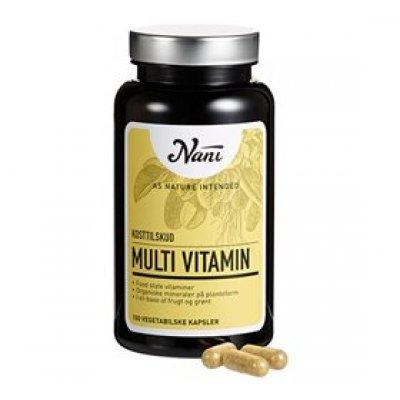 Nani Multivitamin food state • 150 kap.