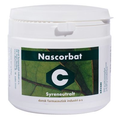 DFI Nascorbat Syreneutralt C-vitamin 500g.