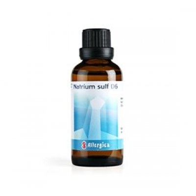 Allergica Natrium sulf. D6 Cellesalt 10 • 50ml.