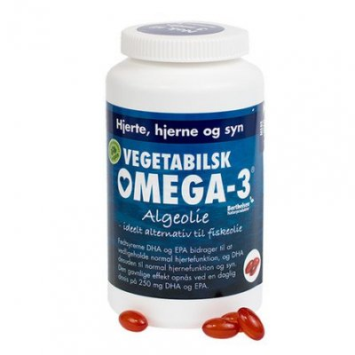DFI Vegetabilsk Omega-3 • 180 kaps.