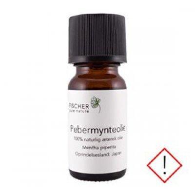 Fischer Pure Nature Pebermynteolie japansk æterisk • 10ml.