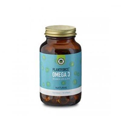 Plantforce Omega 3 (Vegansk EPA & DHA) • 120 kap.