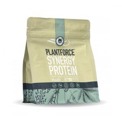 Plantforce Protein vanilje Synergy • 400g.