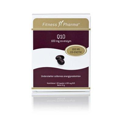Fitness Pharma Q10 100 mg • 60 kap.