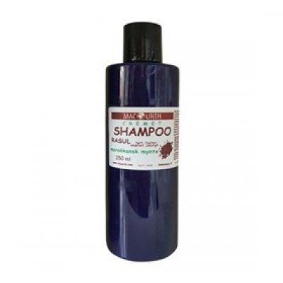 MacUrth Rasul cremeshampoo m. marokkansk mynte • 250ml.