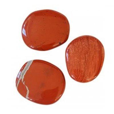 NatureSource Rød Jaspis (poleret) • 1 stk.