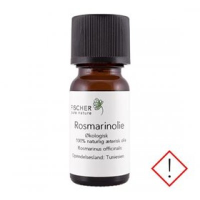 Fischer Pure Nature Rosmarinolie æterisk øko • 10ml.
