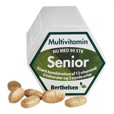 Berthelsen Senior Multivitamin • 90 tab.