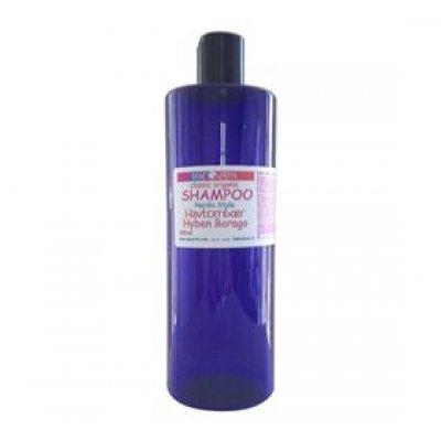 MacUrth Shampoo sart tørt hår mild m. Havtorn Hypen Baorago • 500ml.