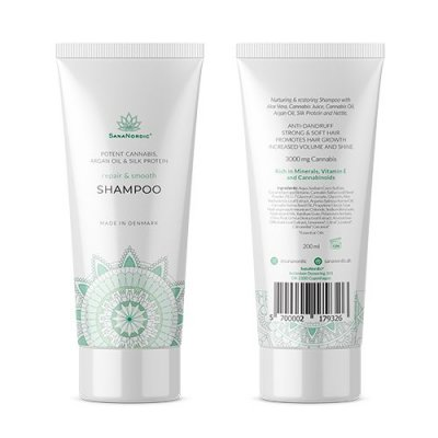 Sananordic Cannabis shampoo 200 ml