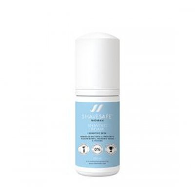 Shaving foam sensitive skin Woman ShaveSafe 100 ml