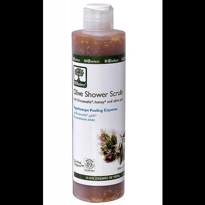 Bioselect Shower Scrub • 250 ml.