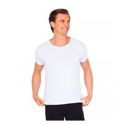 Boody T-Shirt Herre V-hals hvid str. S • 1stk.