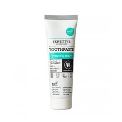 Urtekram Tandpasta strong mint Bio9 • 75ml.