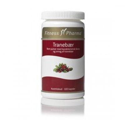 Fitness Pharma Tranebærkapsler • 100 kap.
