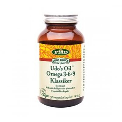 Udo's Choice Ultimate Oil Blend • 90 kaps.