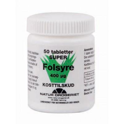 Folsyre (B9) 400 ug