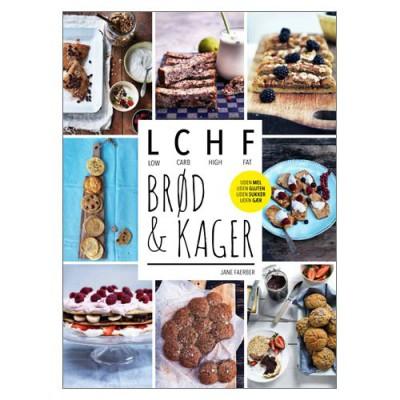 LCHF Brød og Kager Bog