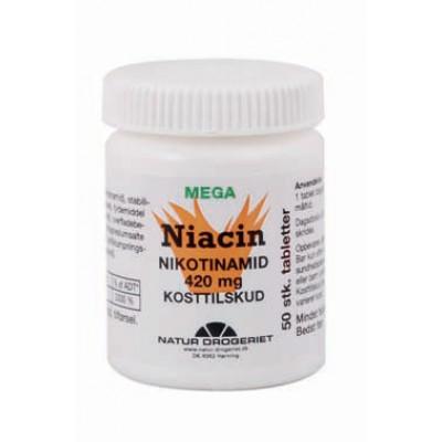 Niacin Nikotinamid Mega