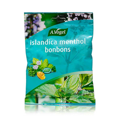 A.Vogel Islandica Menthol Bonbons • 75g.